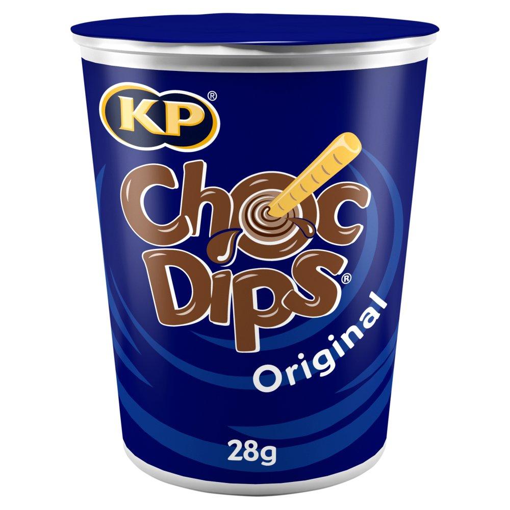 KP Choc Dips Original 28g