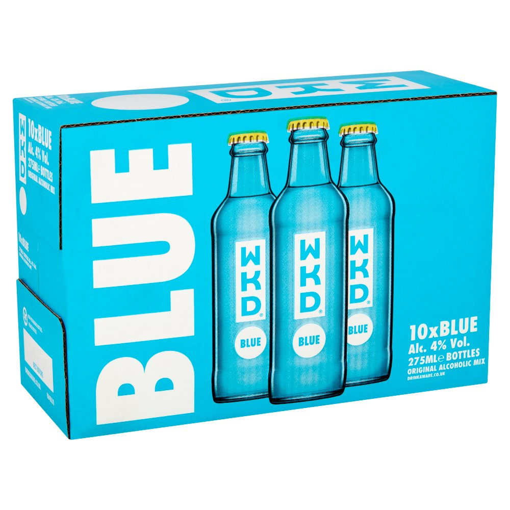 WKD Blue Ready to Drink Multipack 10 x 275ml