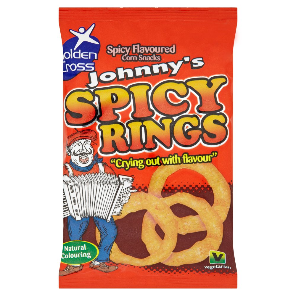 Johnnys Spicy Rings 20p Std