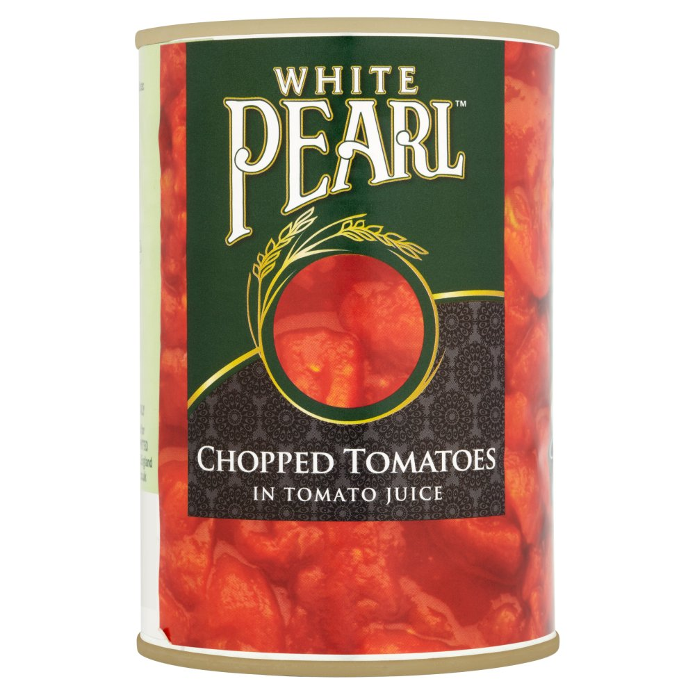 White Pearl Chopped Tomatoes 400g