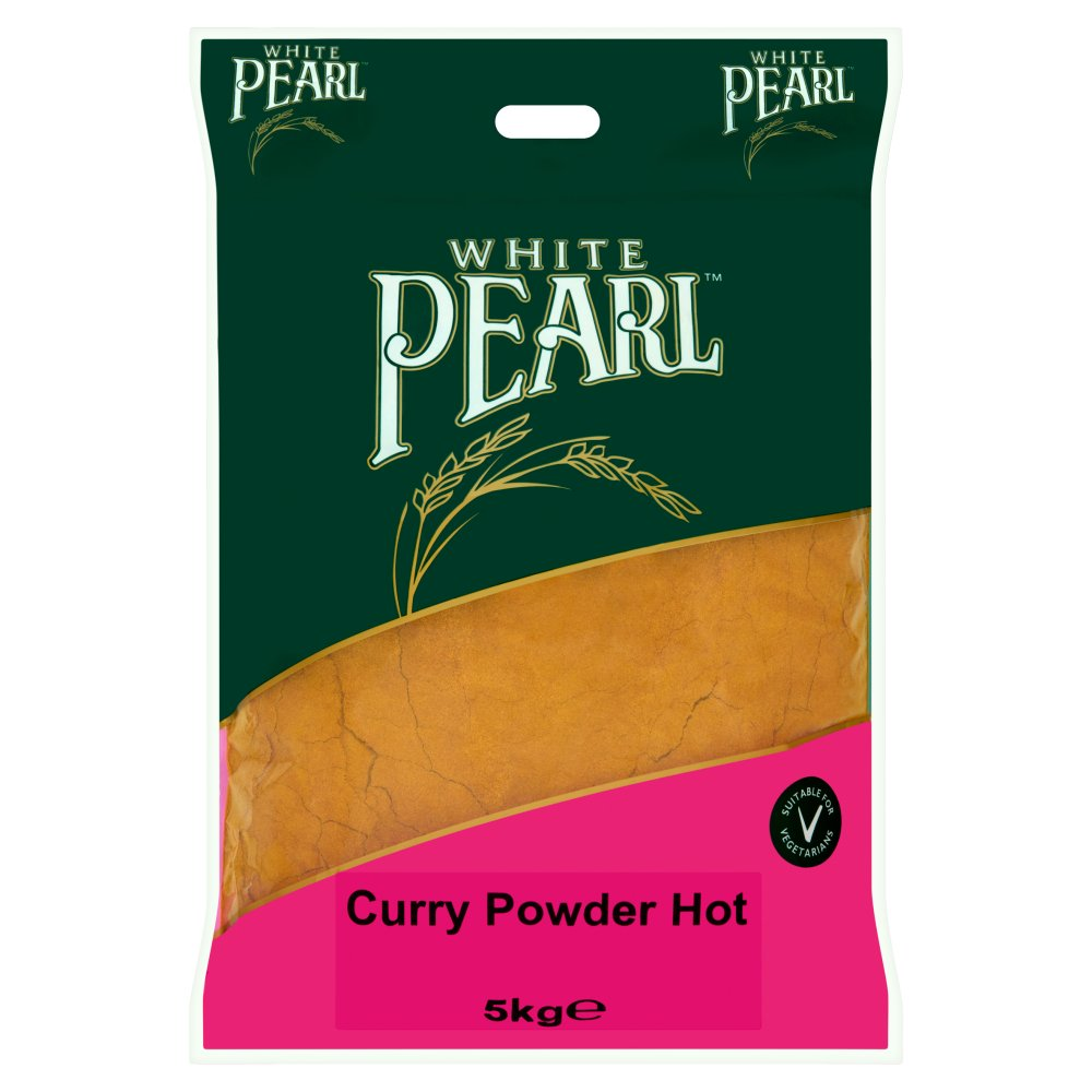 White Pearl Curry Powder Hot