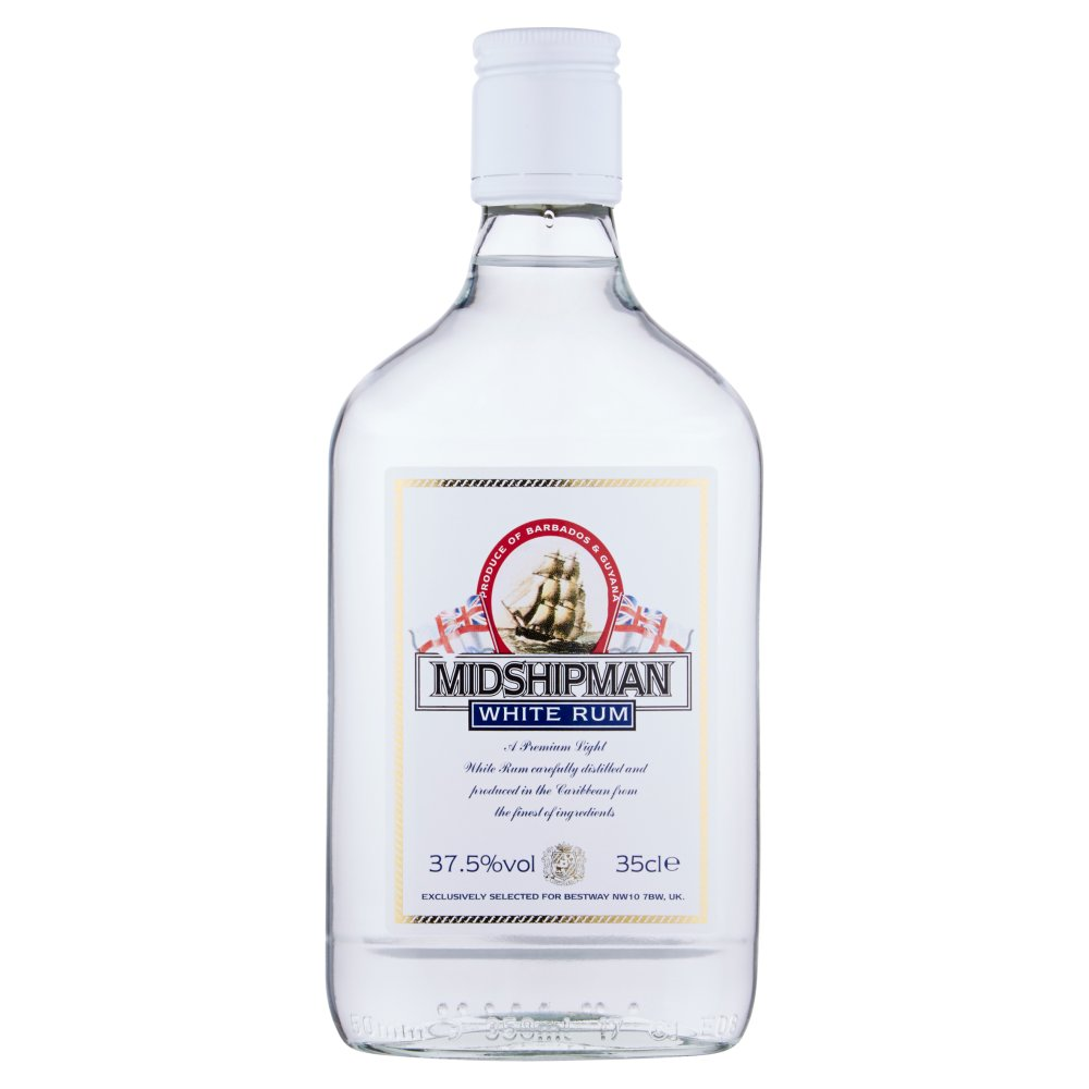 Midshipman White Rum 35cl
