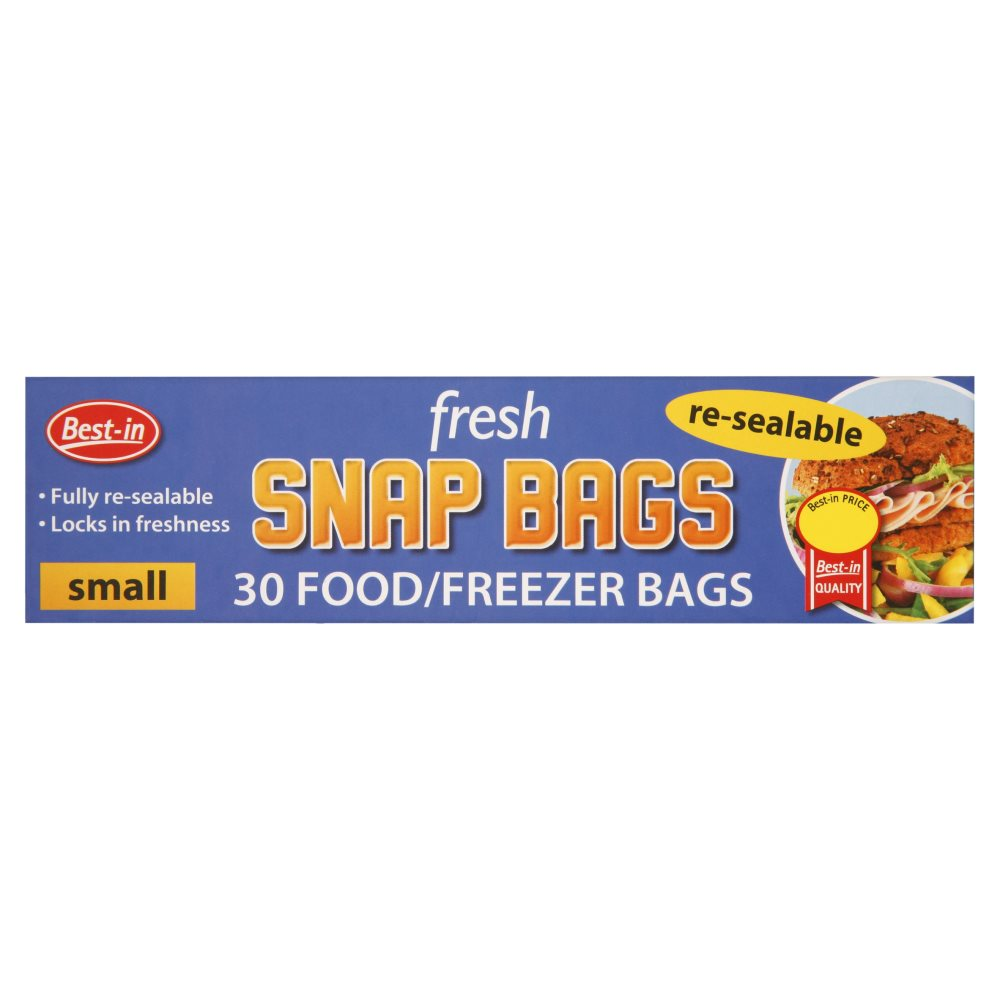 Bestone Snap & Seal Bags Small PM £1.15
