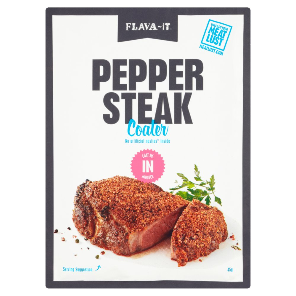 Flava-It Pepper Steak