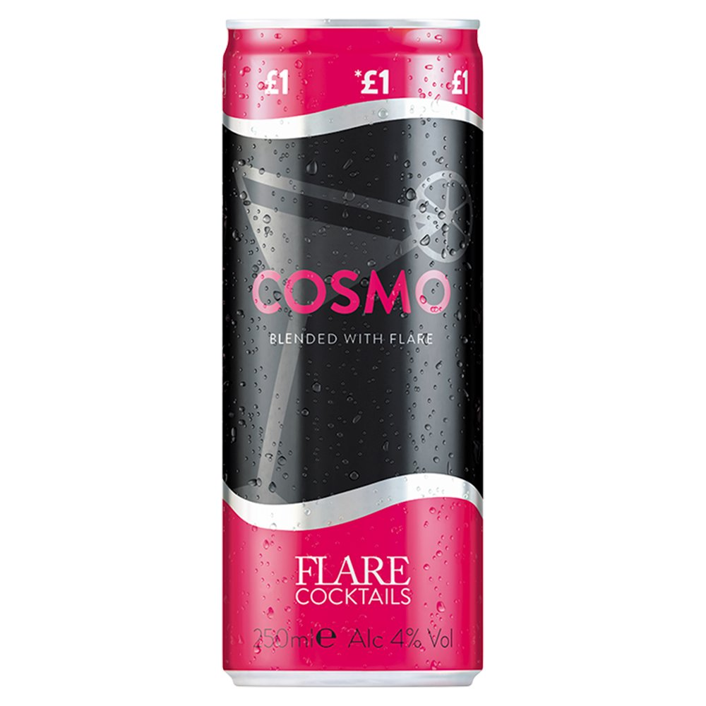 Flare Cosmo £1.00 Can