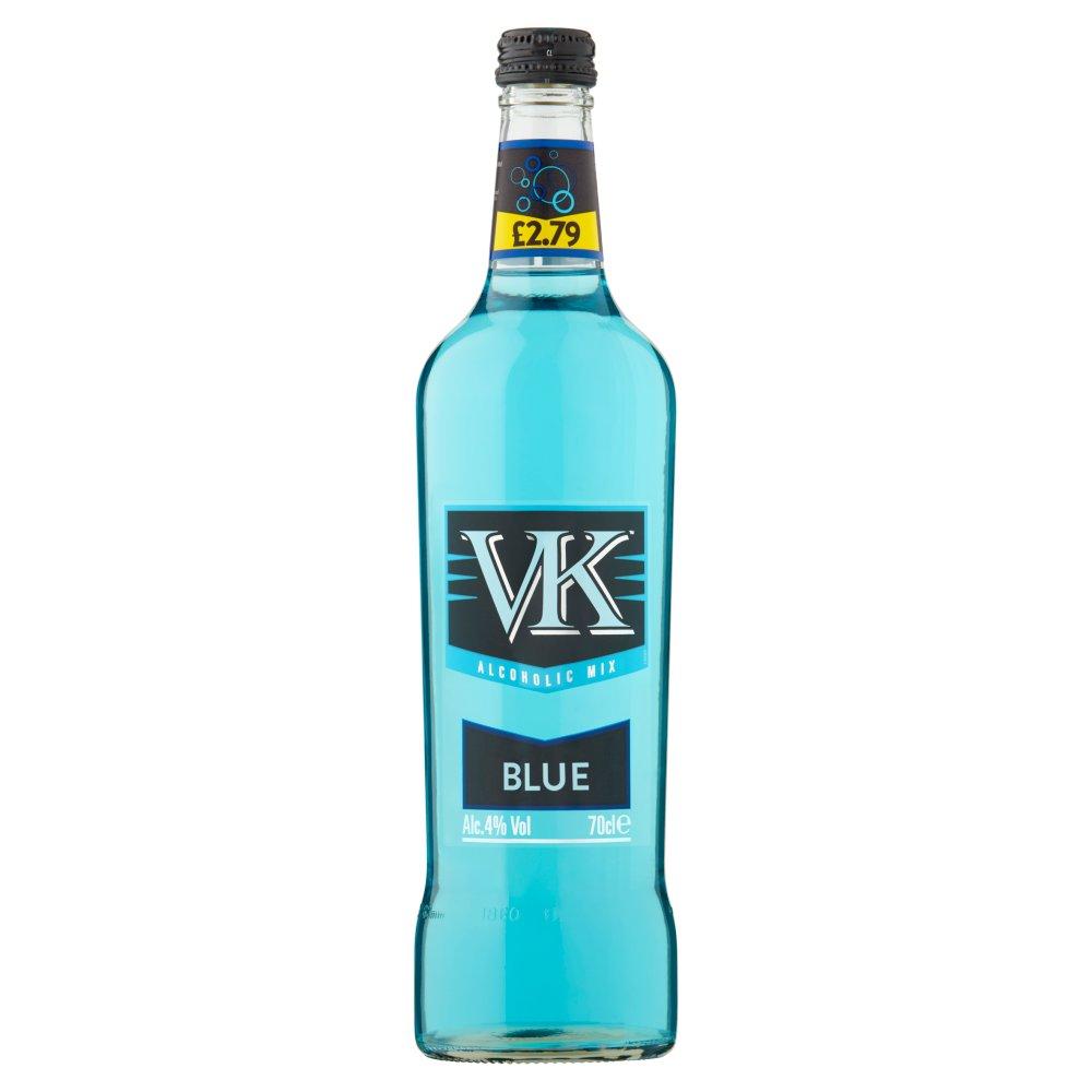 VK Blue Alcoholic Mix 70cl