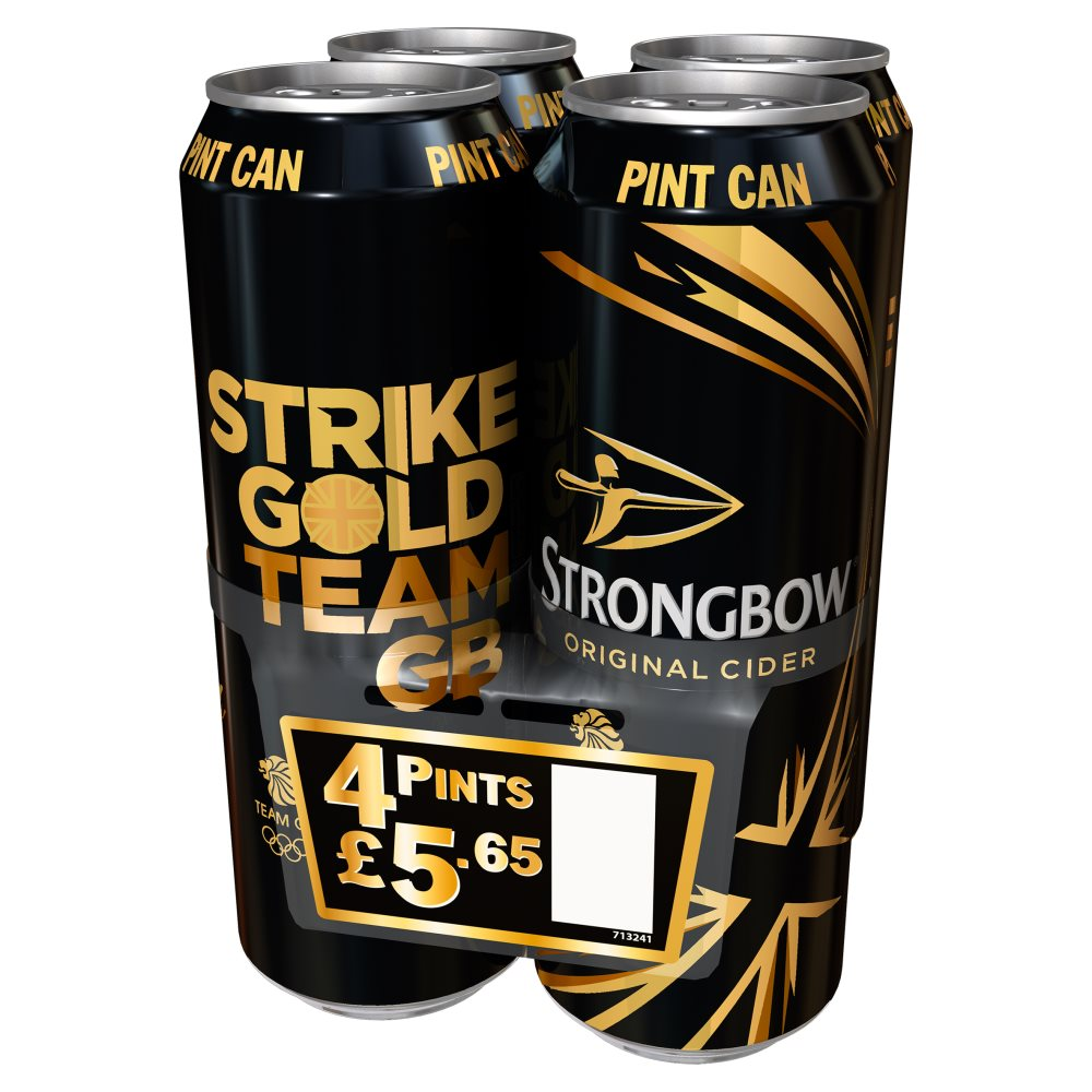 Strongbow Pint 4 For £5.65