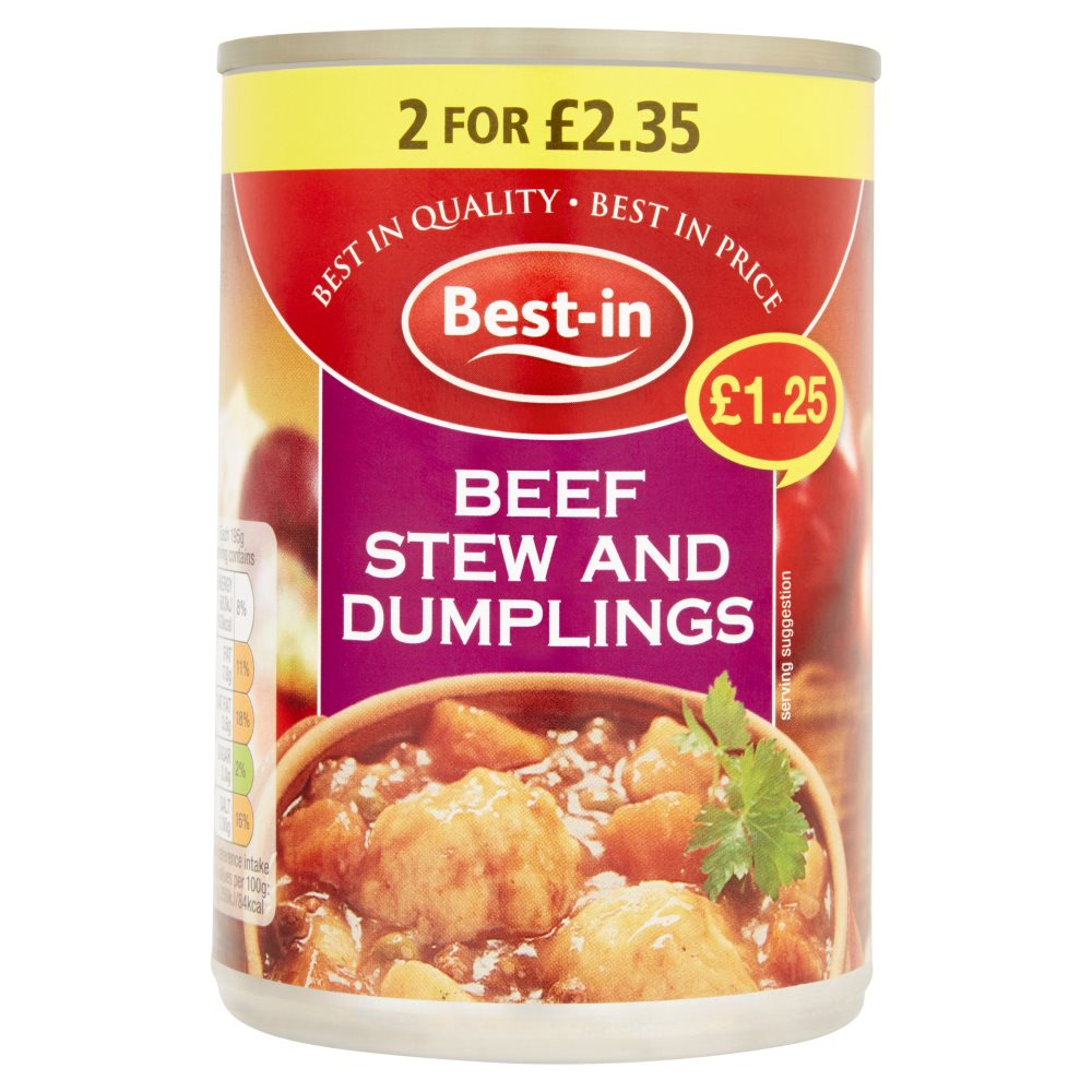 Bestin Stew Dumplings PM £1.25