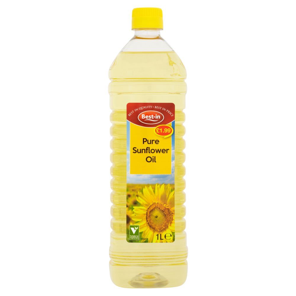 Bestin Sunflower Oil PM £1.99