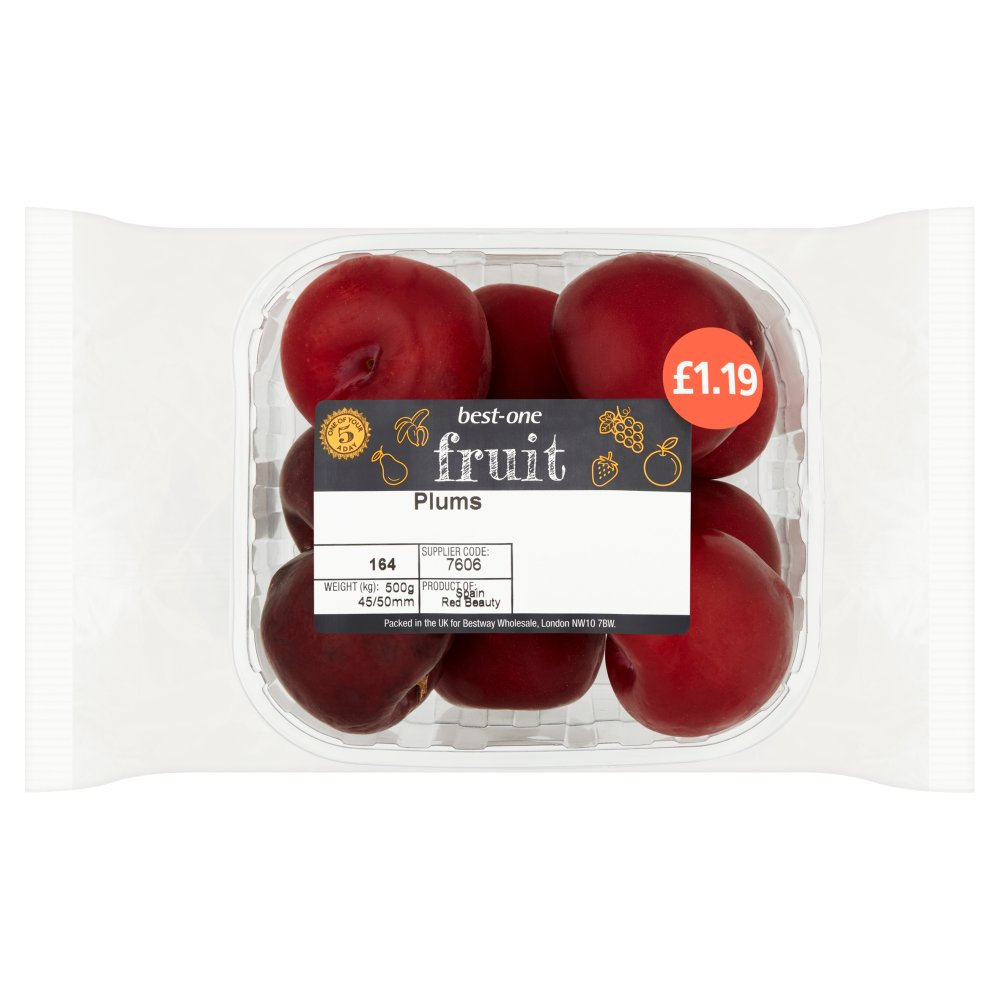 B/In Plums £1.39 500g