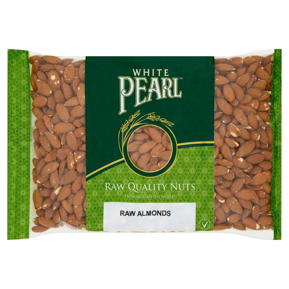 White Pearl Raw Almonds 700g