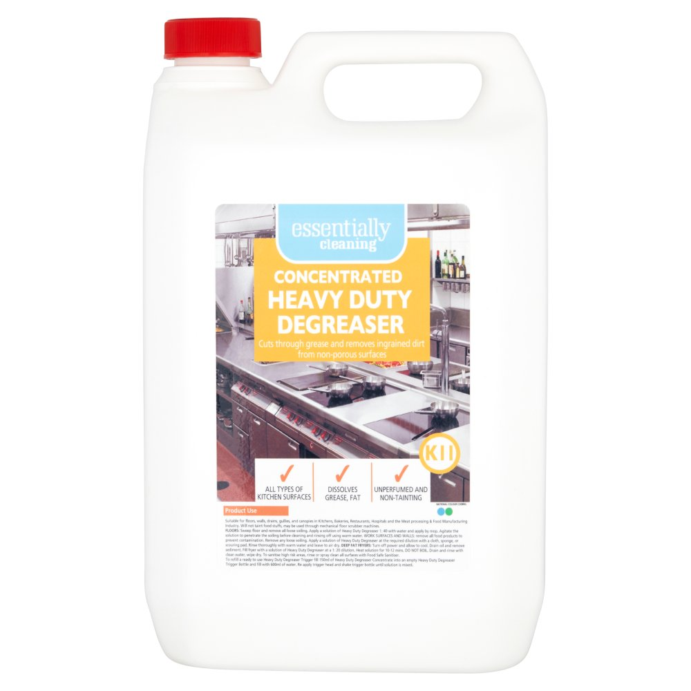 Essentially Cleaning Concentrated Heavy Duty Degreaser K11 5L