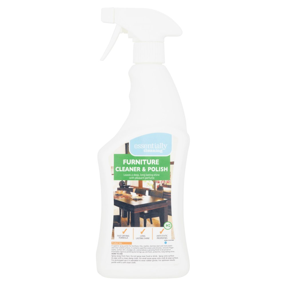 Essentially Cleaning Furniture Cleaner & Polish H2 750ml