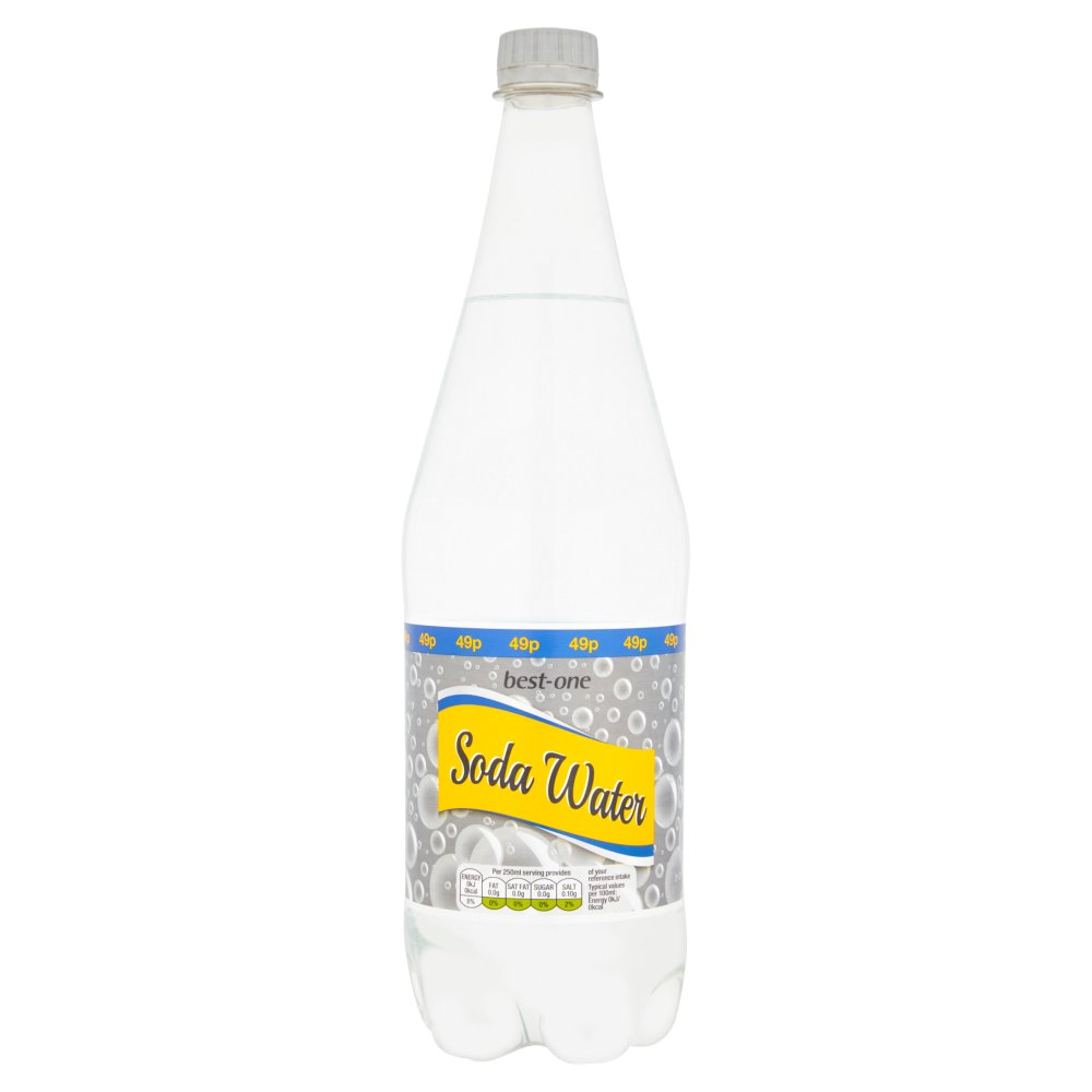 Best-One Soda Water 1 Litre