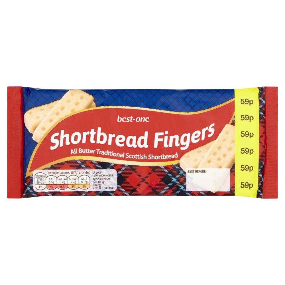 Best-One Shortbread Fingers 100g