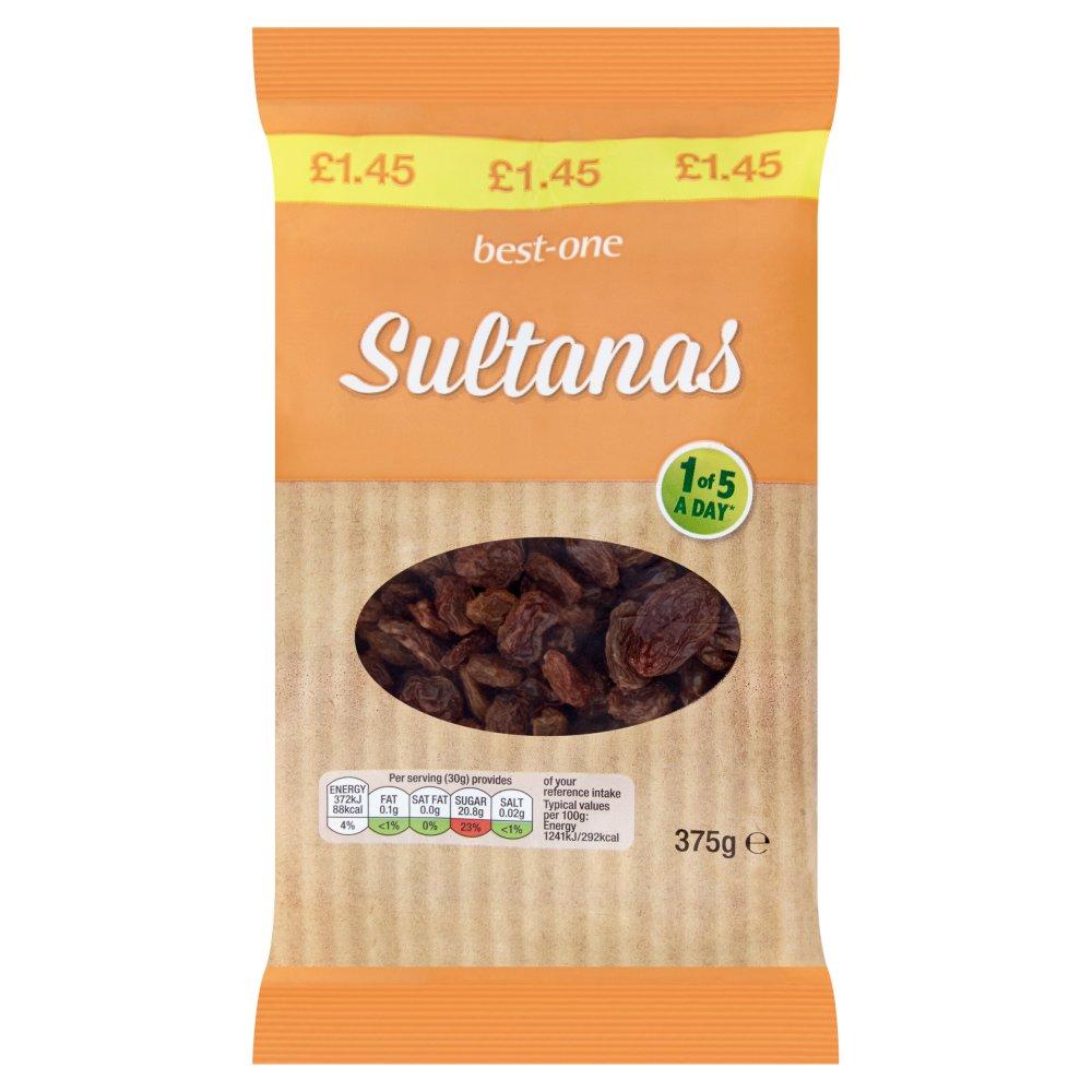 Best-One Sultanas 375g