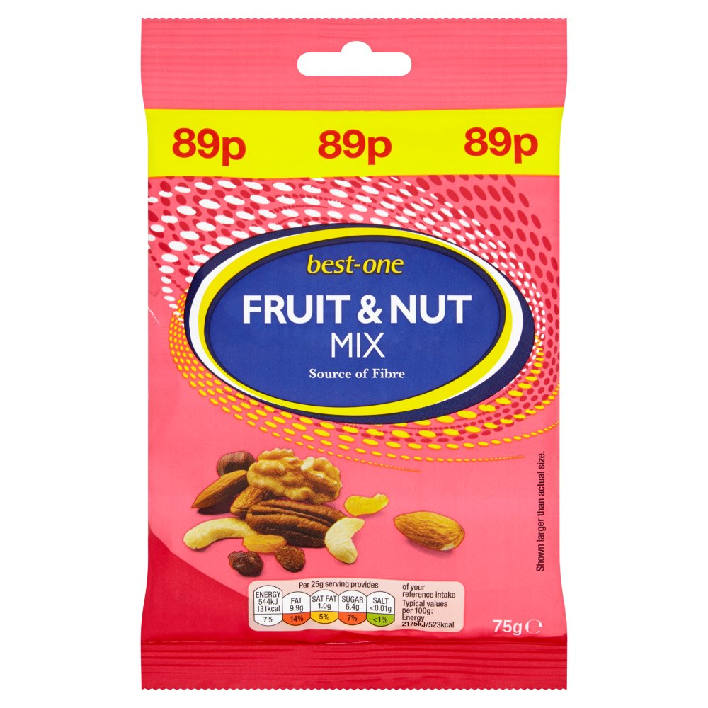 Best-One Fruit & Nut Mix 75g