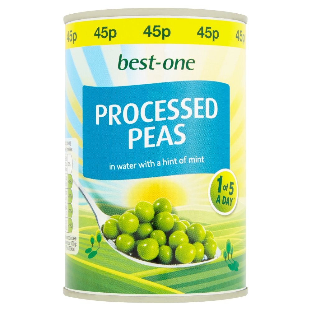 Best-One Processed Peas in Water with a Hint of Mint 300g