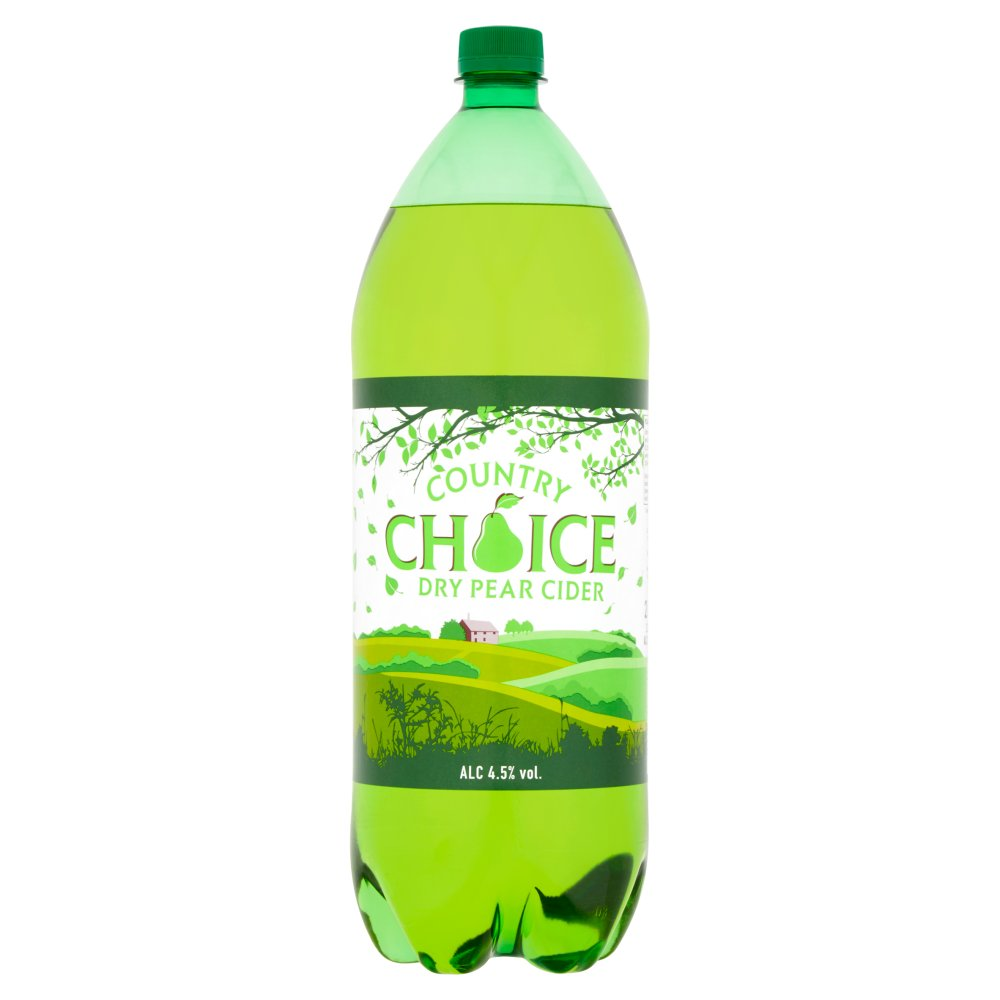 Country Choice Dry Pear Cider 2 Litres