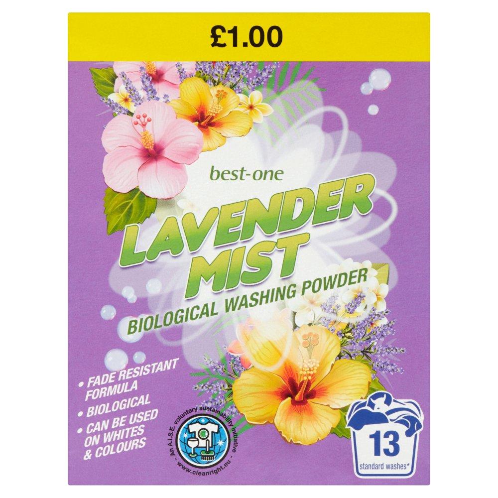 Best-One Lavender Mist Biological Washing Powder 884g