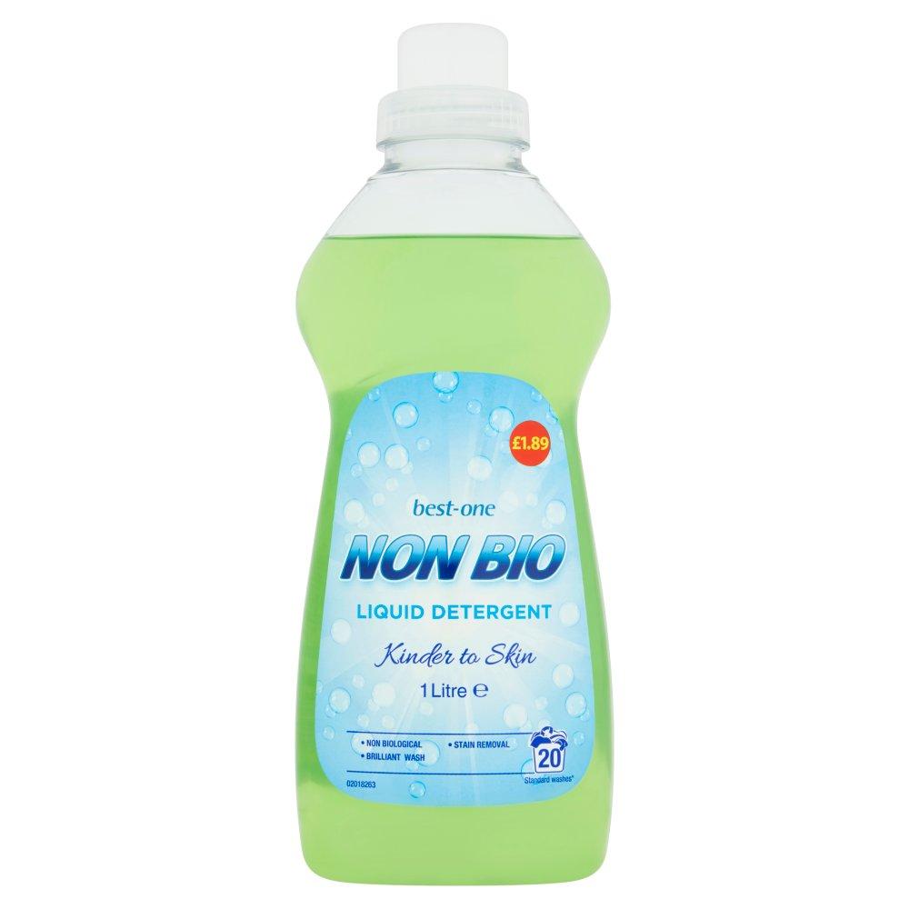 Best-One Non Bio Liquid Detergent 1 Litre