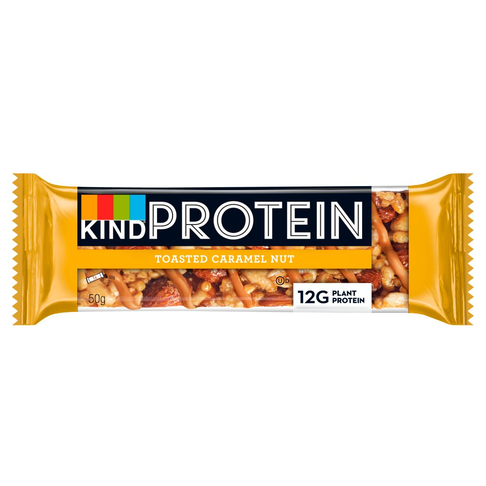 KIND Protein Toasted Caramel Nut Snack Bar 50g