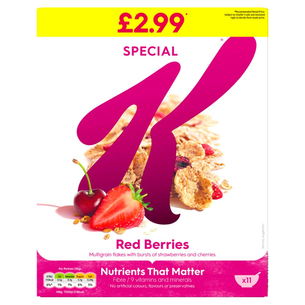 Special K Red Berries 330g