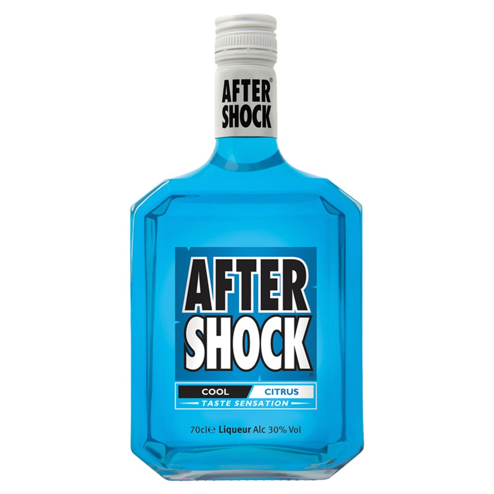 Aftershock Blue 30% 70cl