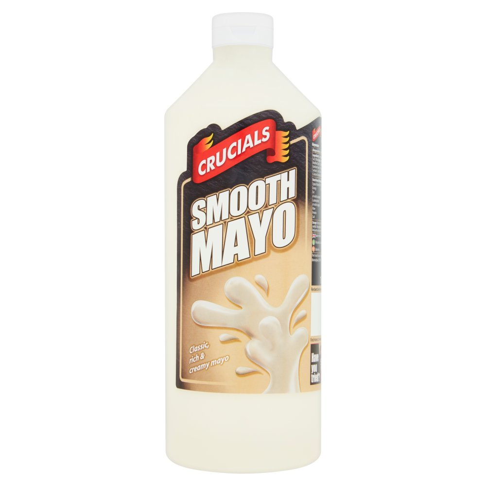 Crucials Smooth Mayo 1 Litre