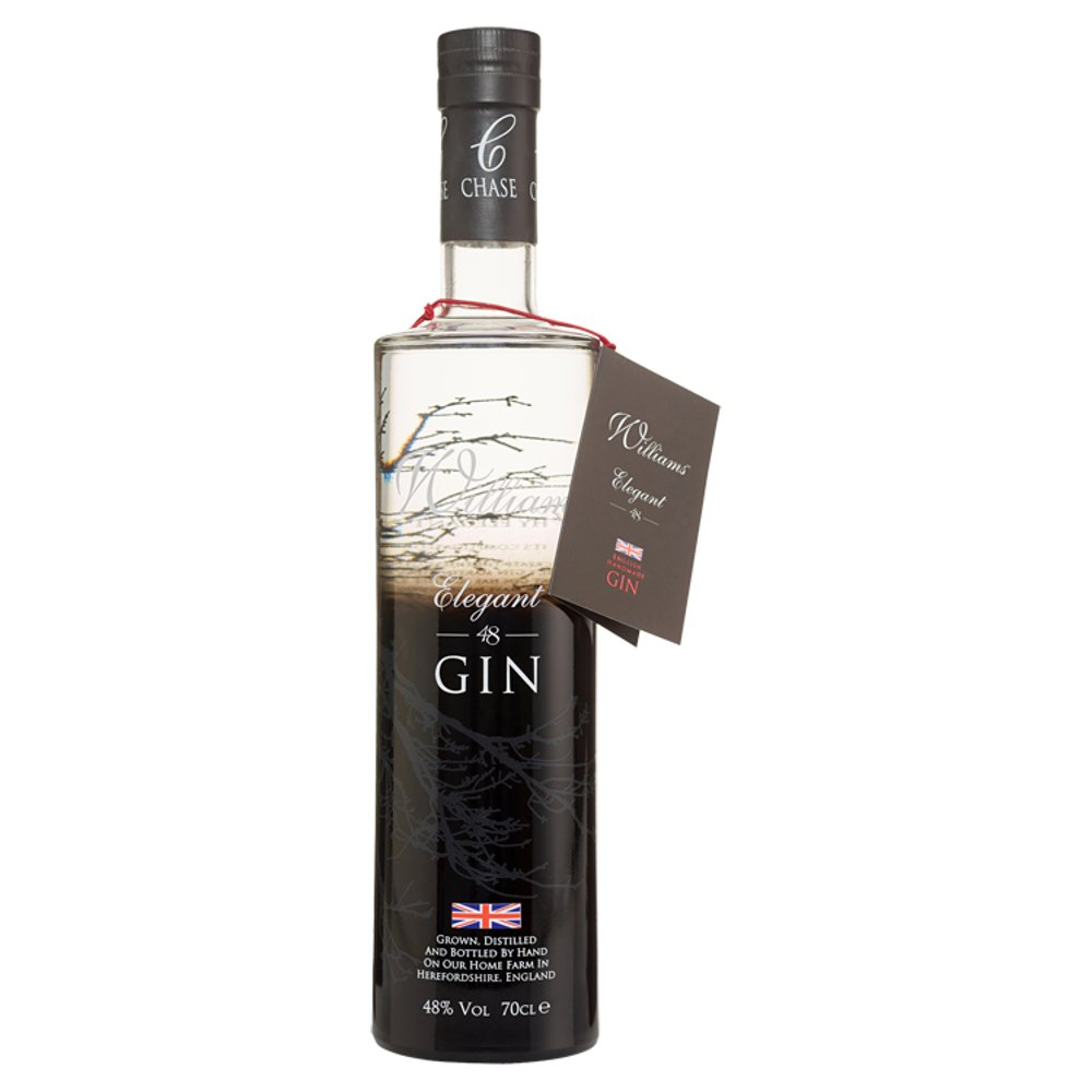 Chase Williams Full Bodied Gin Crisp But Fruity