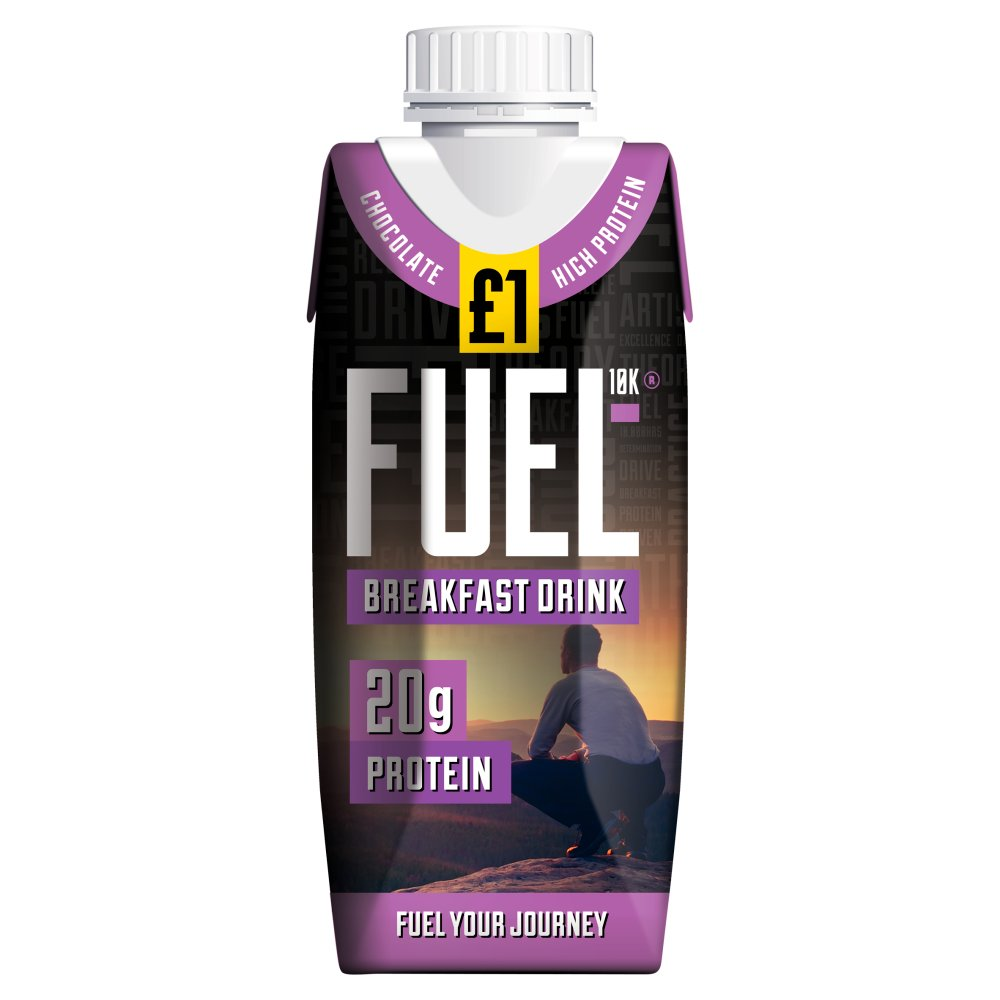 Fuel10K Chocolate Breakfast Drink £1