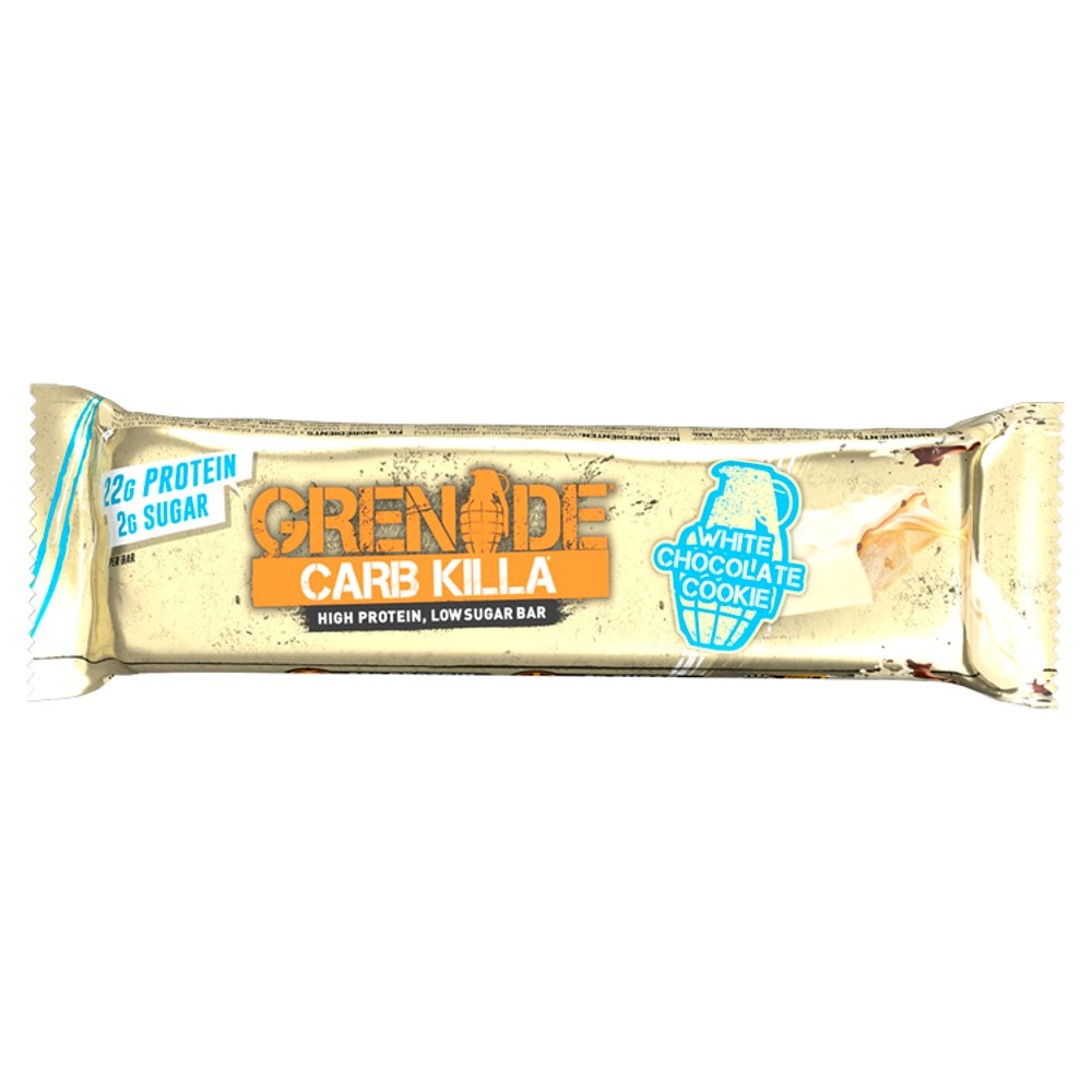 Grenade Carb Killa High Protein, Low Sugar Bar White Chocolate Cookie 60g