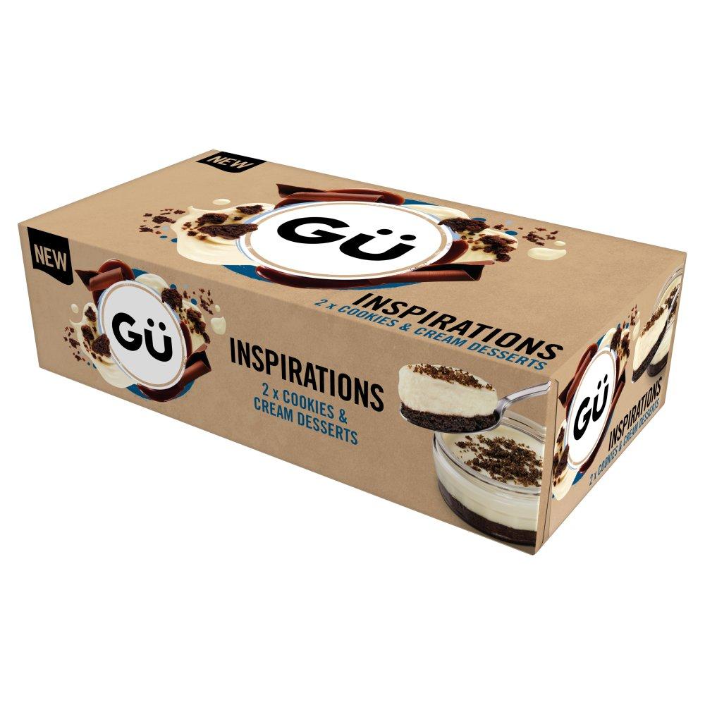 Gü Inspirations Cookies & Cream Desserts 2 x 85g