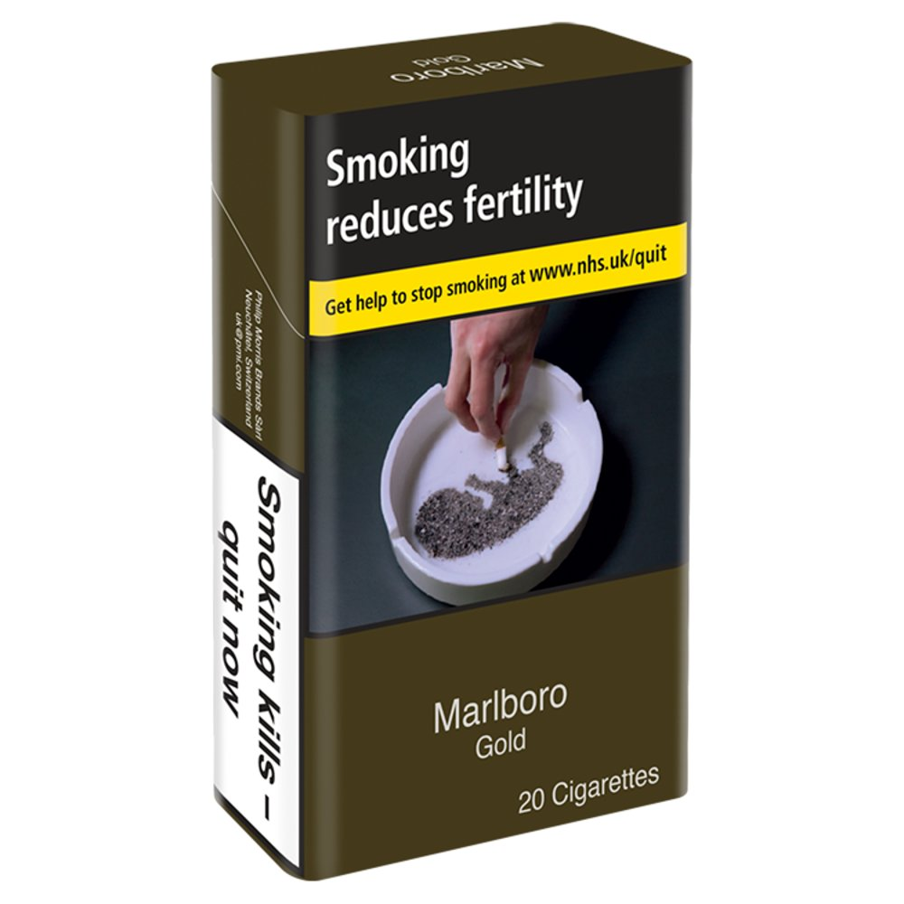 Marlboro Gold KS 20 Cigarettes