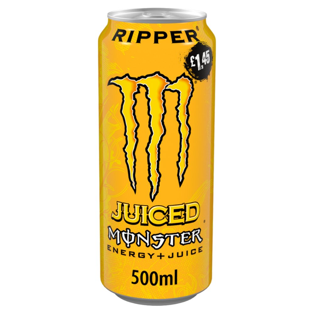 Monster Ripper Energy Drink 12 x 500ml PM £1.45