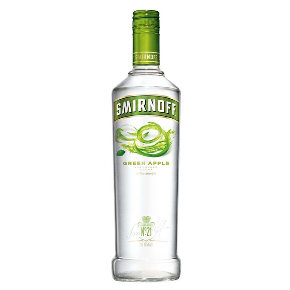Smirnoff Green Apple Flavoured Vodka PMP £13.79