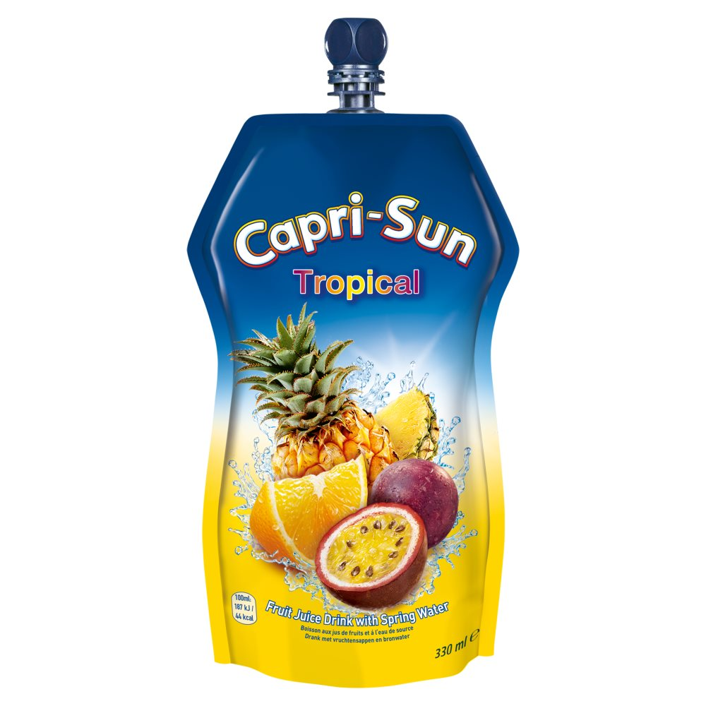 Capri-Sun Tropical Juice Drink 330ml