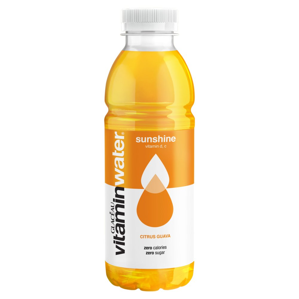 Glaceau Vitamin Water Sunshine Zero 500ml