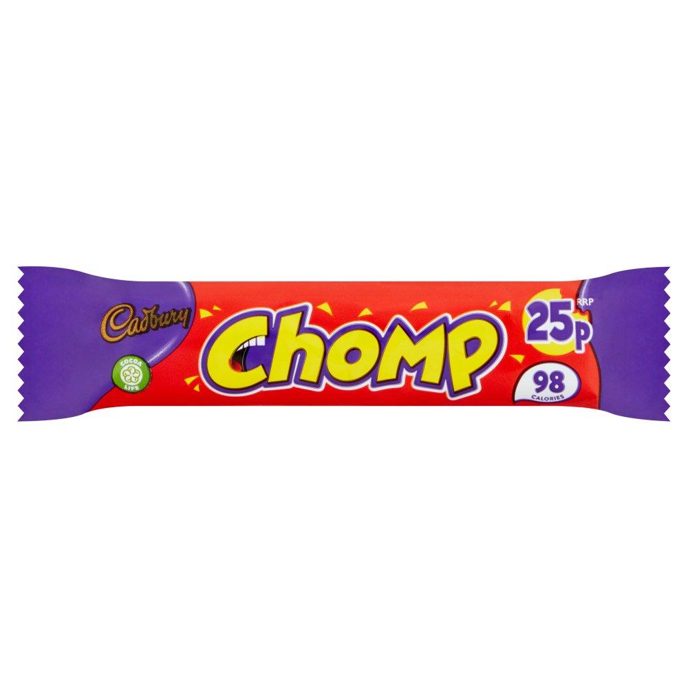 Cadbury Chomp Chocolate Bar 25p 21g
