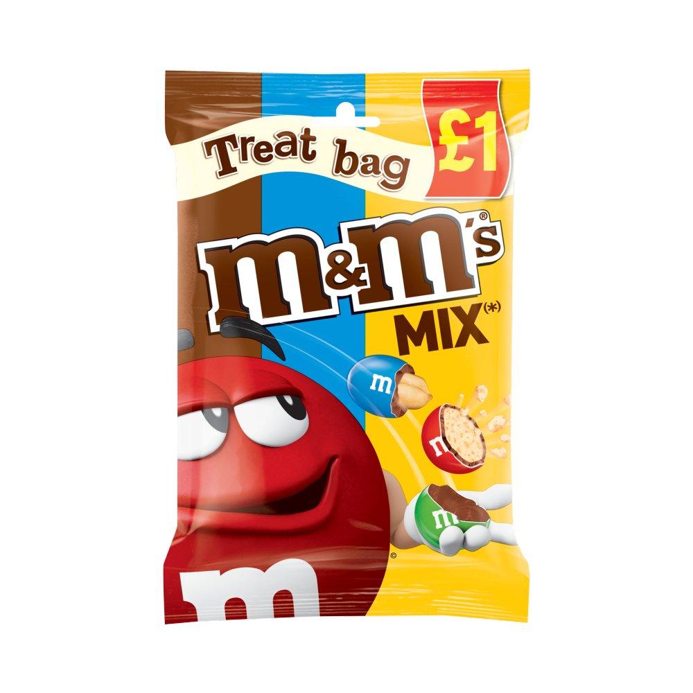 M&M's Mix Chocolate £1 PMP Treat Bag 80g