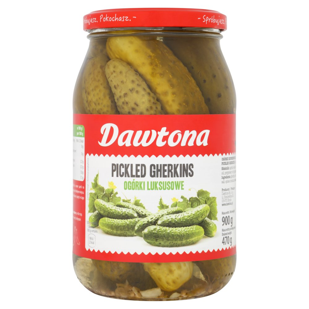 Dawtona Pickled Gherkins 900g