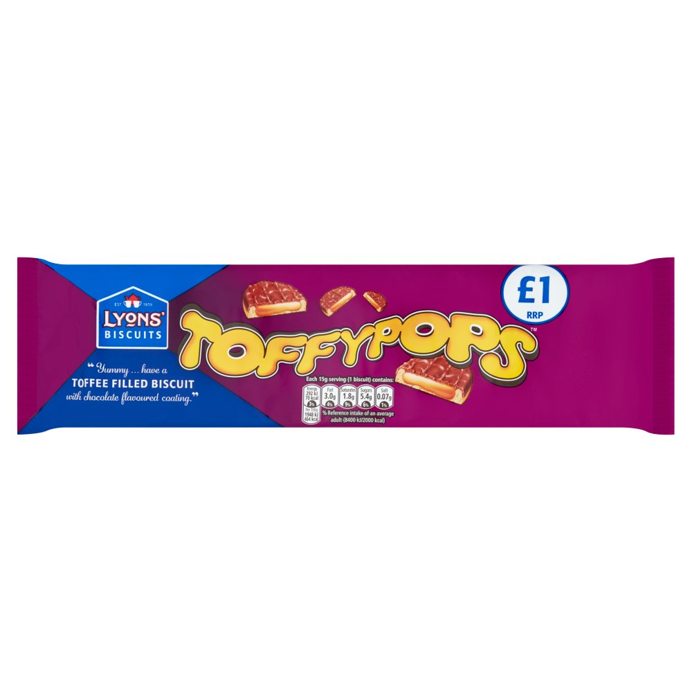 Lyons Toffee Pops PM £1