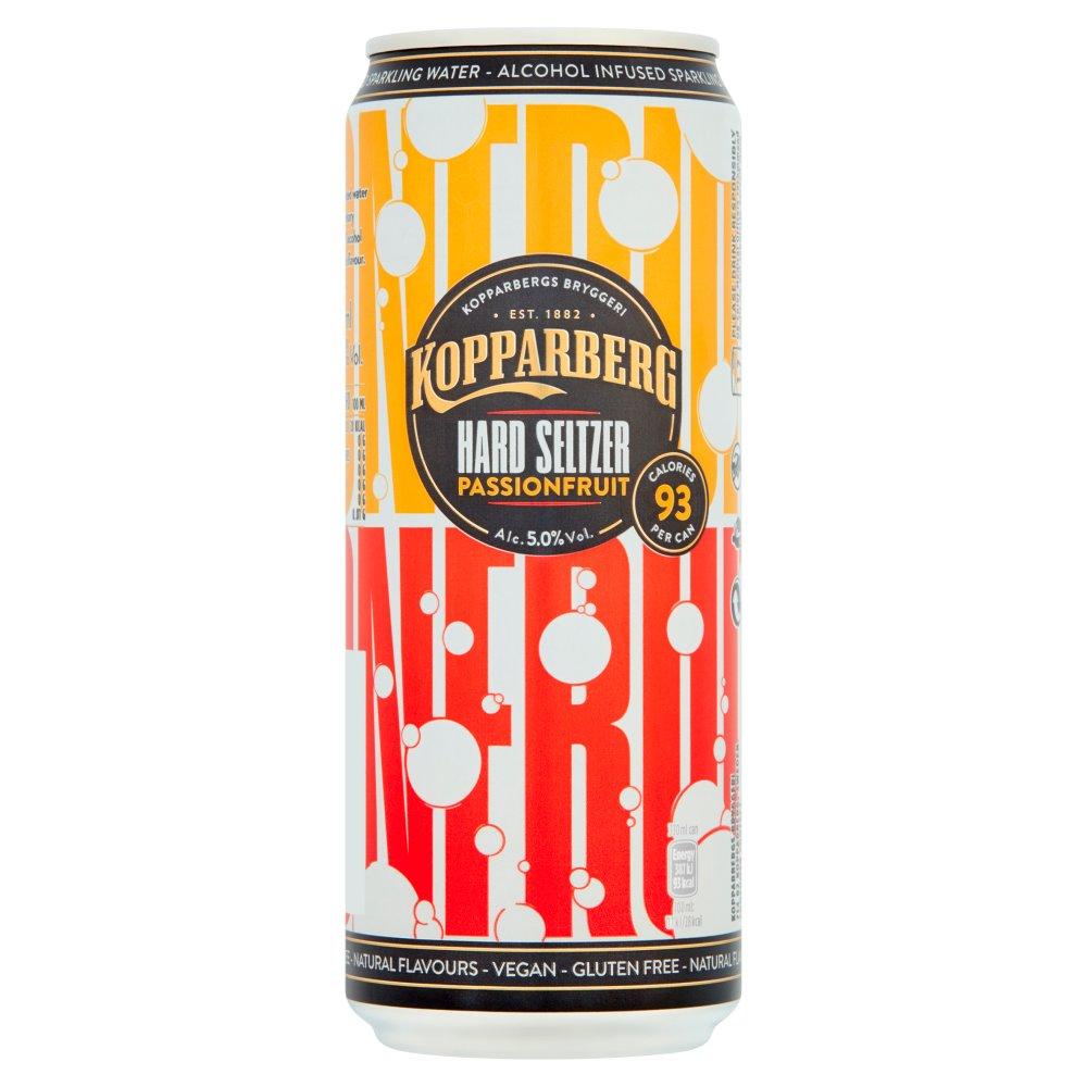 Kopparberg Hard Seltzer PassionFruit 330ml