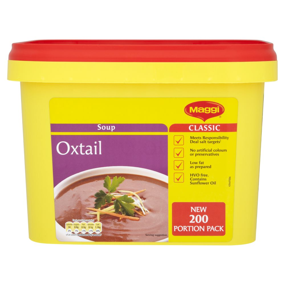 Maggi Soup Oxtail