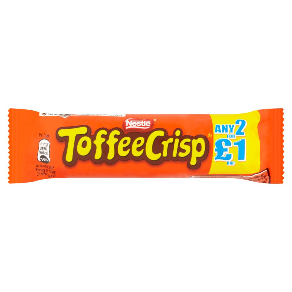 Nestle Toffee Crisp PM 2 For £1