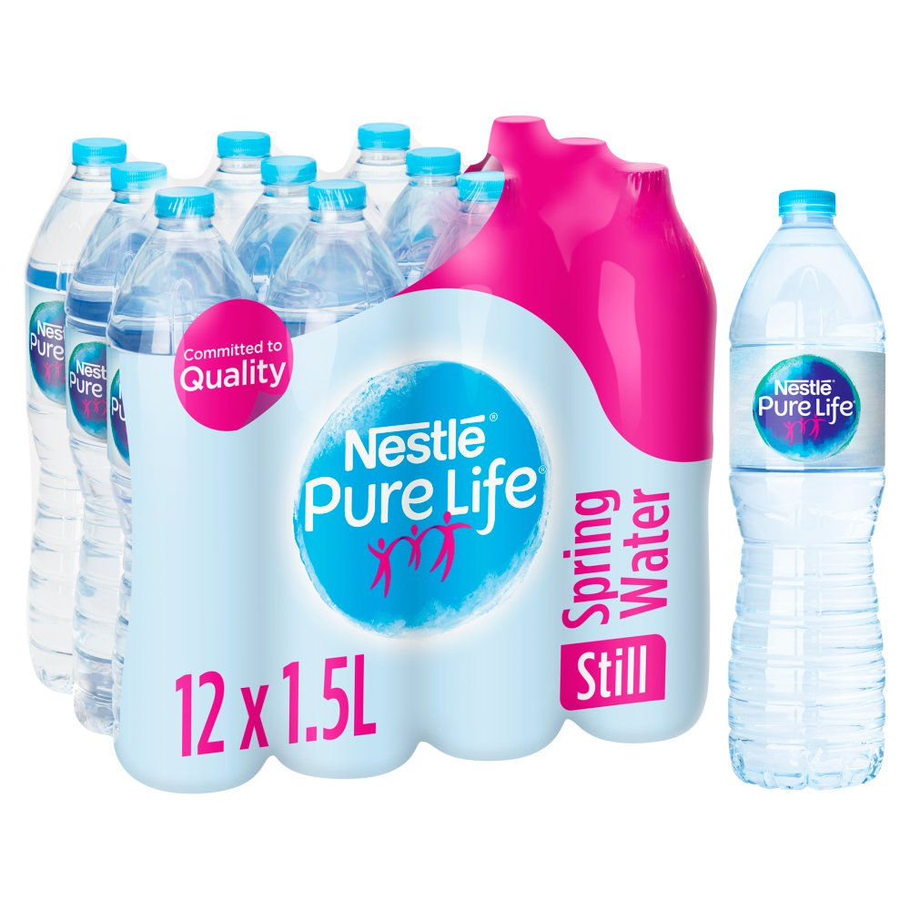 Nestle Pure Life Still Spring Water 12x1 5L :: Bestway Wholesale