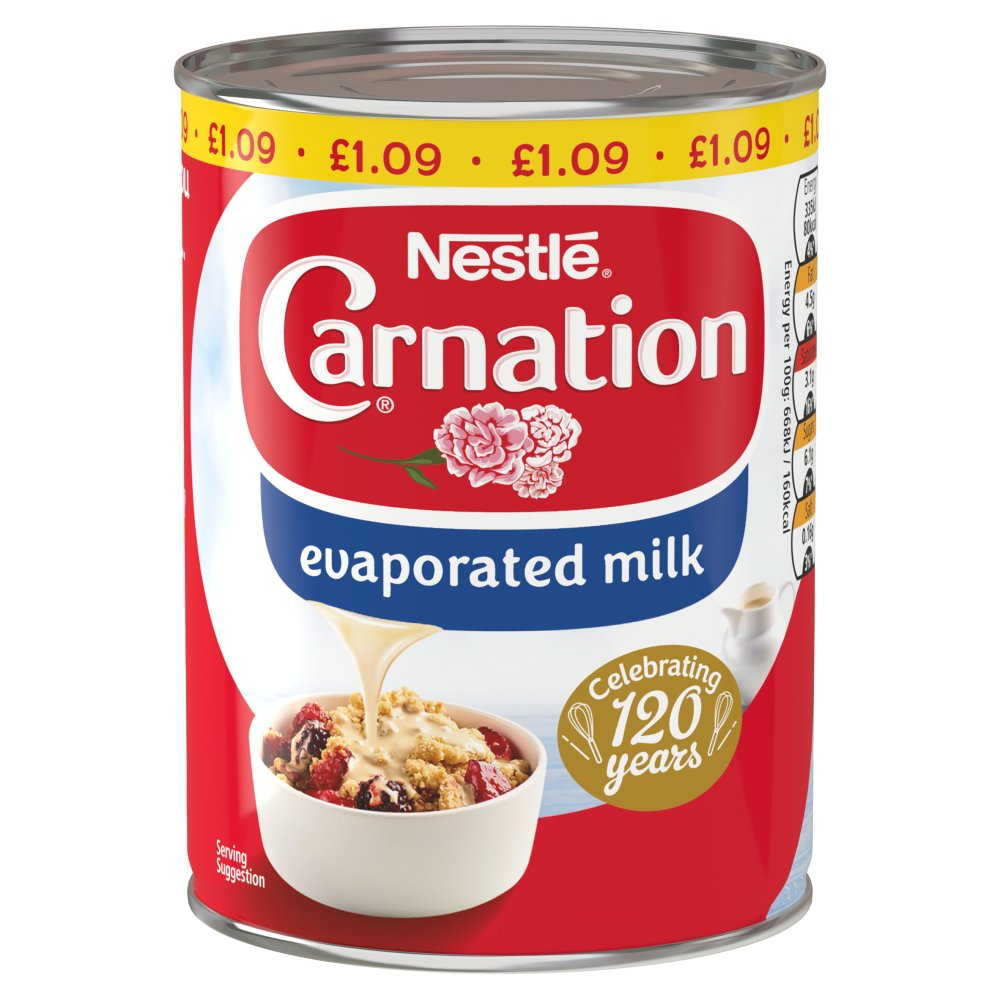 Nestlé® Carnation® Evaporated Milk 410g