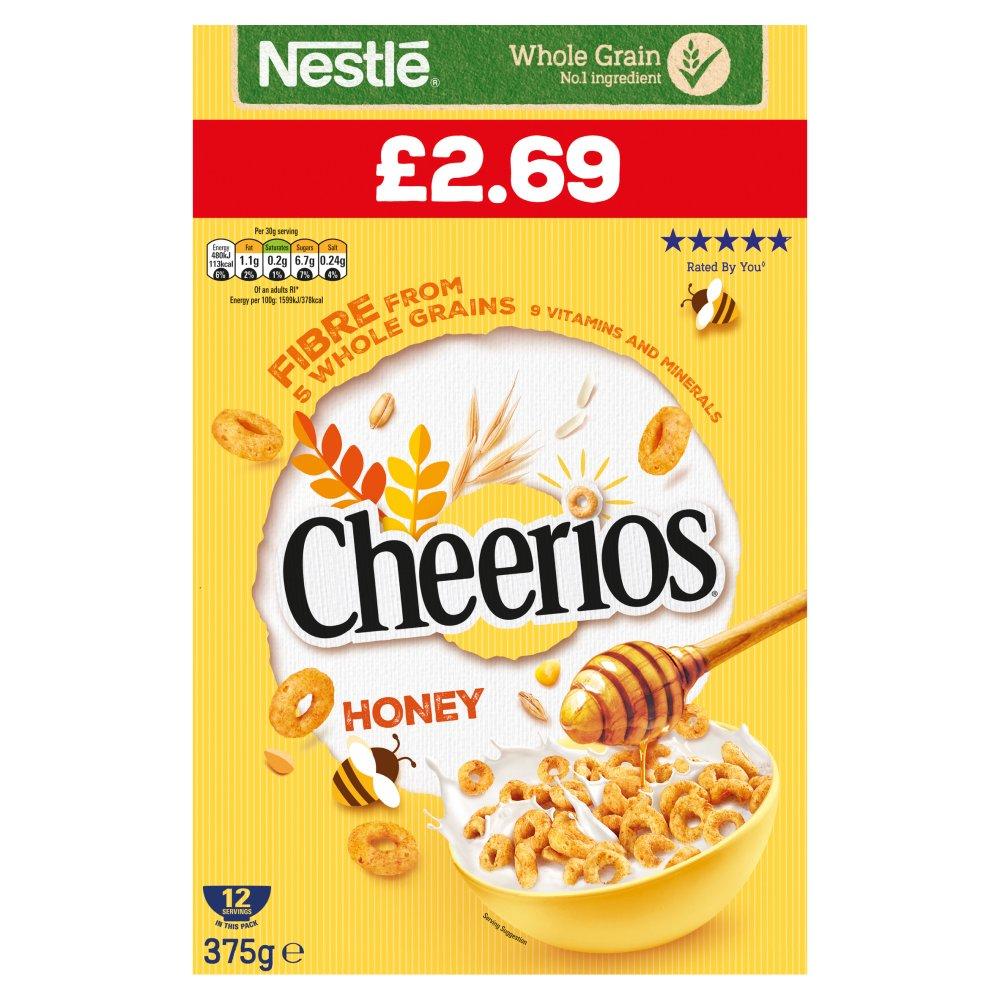 Cheerios Honey 375g