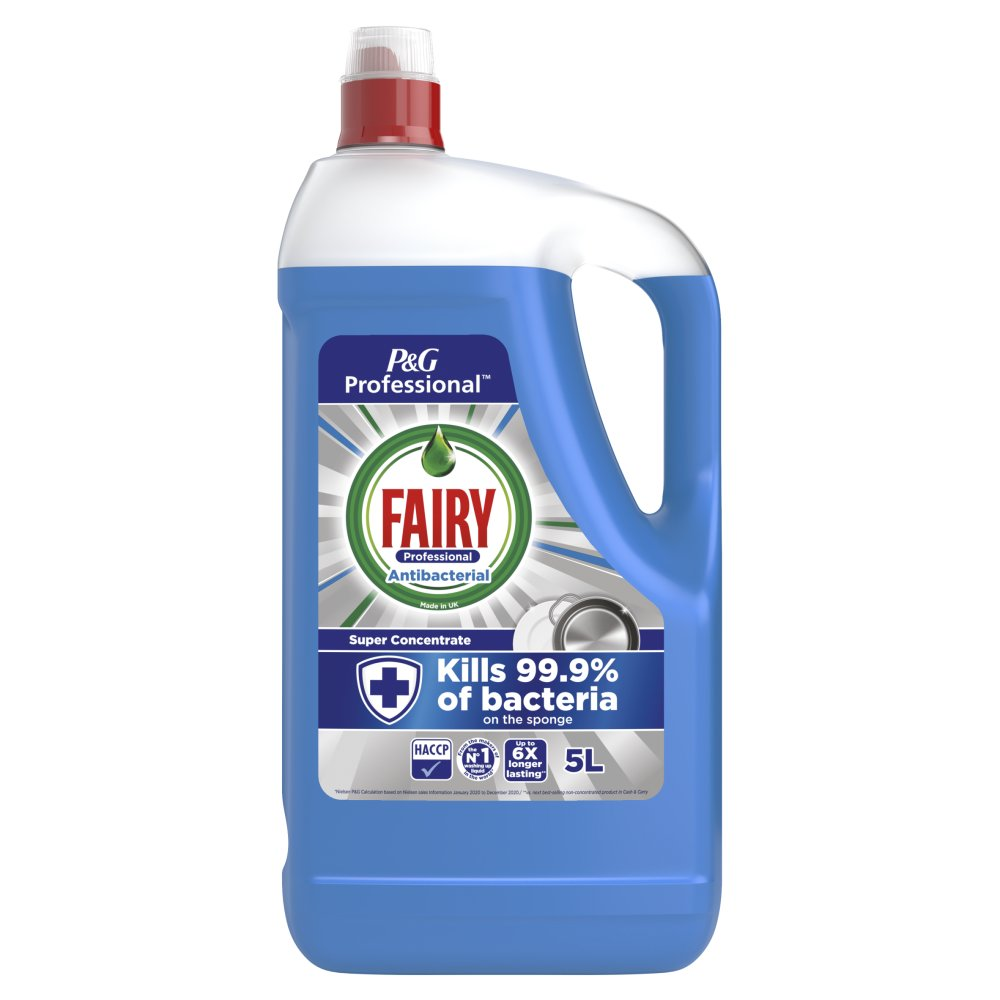 Fairy Professional Super Concentrated Washing Up Liquid Extra Hygiene 5L