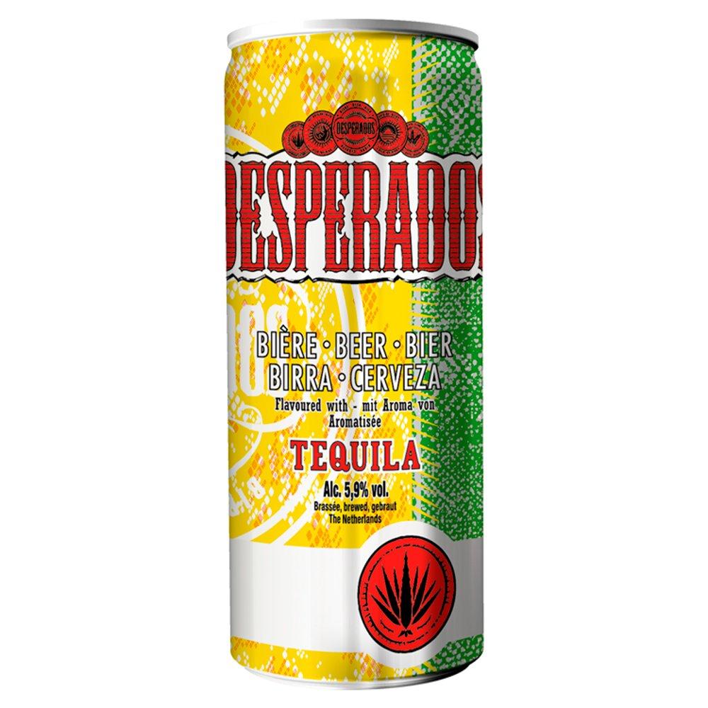 Desperados Tequila Lager Beer Can 250ml Bestway Wholesale